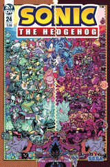 IDW Sonic the Hedgehog Issue 24