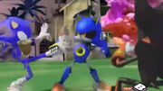 Metal Sonic vs Sonic Shadow