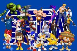 Sega et ses personnages