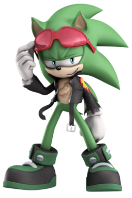 Official scourge the hedgehog by elesis knight-d8thfak