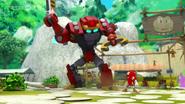 Knuckles VS Obliterator Bot 05