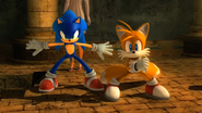 Sonic Tails Sonic 2006