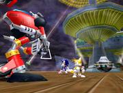 E-102 Gamma vs Sonic Tails