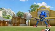 Hammerock Metal Sonic