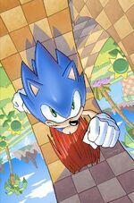 IDW Sonic 1 Img Cvr