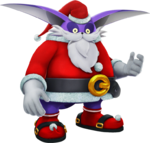 Sonic-Forces Speed-Battle - Santa-Big