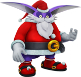 Sonic-Forces Speed-Battle - Santa-Big