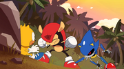 Ray-Mighty-Metal Sonic