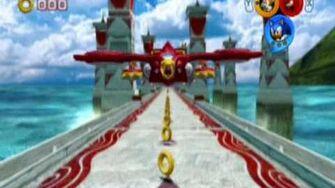 Sonic Heroes Team Sonic - Egg Hawk