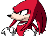 Knuckles the Echidna (Sonic le Rebelle)