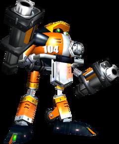 Sonic Adventure - E-104 Epsilon