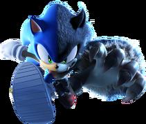 Sonic cover CG art
