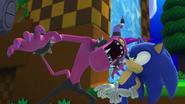 Zazz face Sonic