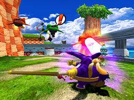 Sonic Heroes Fire Knock
