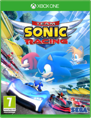 Team Sonic Racing - Jaquette Xbox One