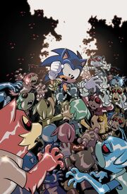 IDW-Publishing Sonic-the-Hedgehog 20 Couverture B