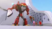 ObliteratorBot VS Amy Sticks Knuckles