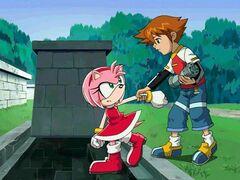 Sonic X - 19 - Le château hanté
