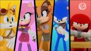 Communication Tails Amy Sticks Sonic Knuckles