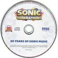 SonicGenerations20YearsOfSonicMusic-Disc