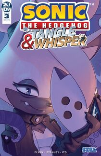 IDW Tangle-Whisper 3 - Couverture