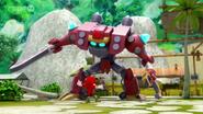 Knuckles VS Obliterator Bot 03