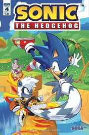 IDW Sonic 4 Couverture A
