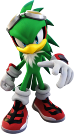 Sonic-Forces Speed-Battle - Jet