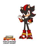 Shadow the Hedgehog Boom concept