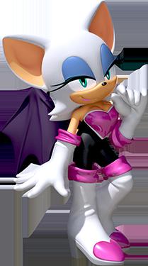 Team-Sonic-Racing Rouge profil