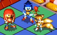 Sonic 3D- Flickies' Island - Tails et Knuckles