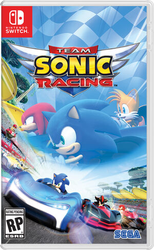 Team Sonic Racing - Jaquette Switch