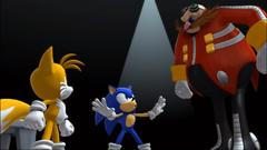 Le Monde Perdu Tails Sonic Eggman