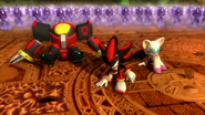 Mephiles - Omega - Shadow - Rouge