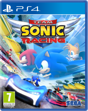 Team Sonic Racing - Jaquette PS4