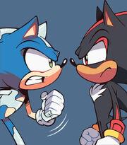 IDW 20 - Sonic Shadow profils