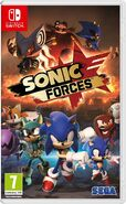Sonic Forces Nintendo Switch