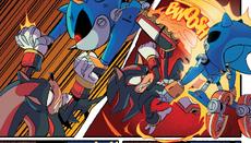 IDW 30 - Shadow vs Metal Sonic