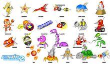 Badniks Sonic 2