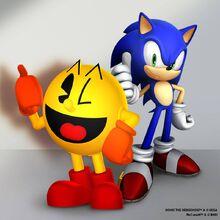 Pac-man-x-sonic