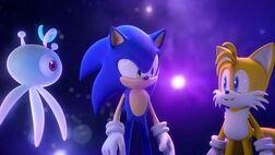Yacker, Sonic et Tails