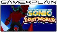 Sonic Lost World Bande-annonce des effroyables six