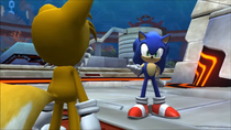 Tails sonic colors