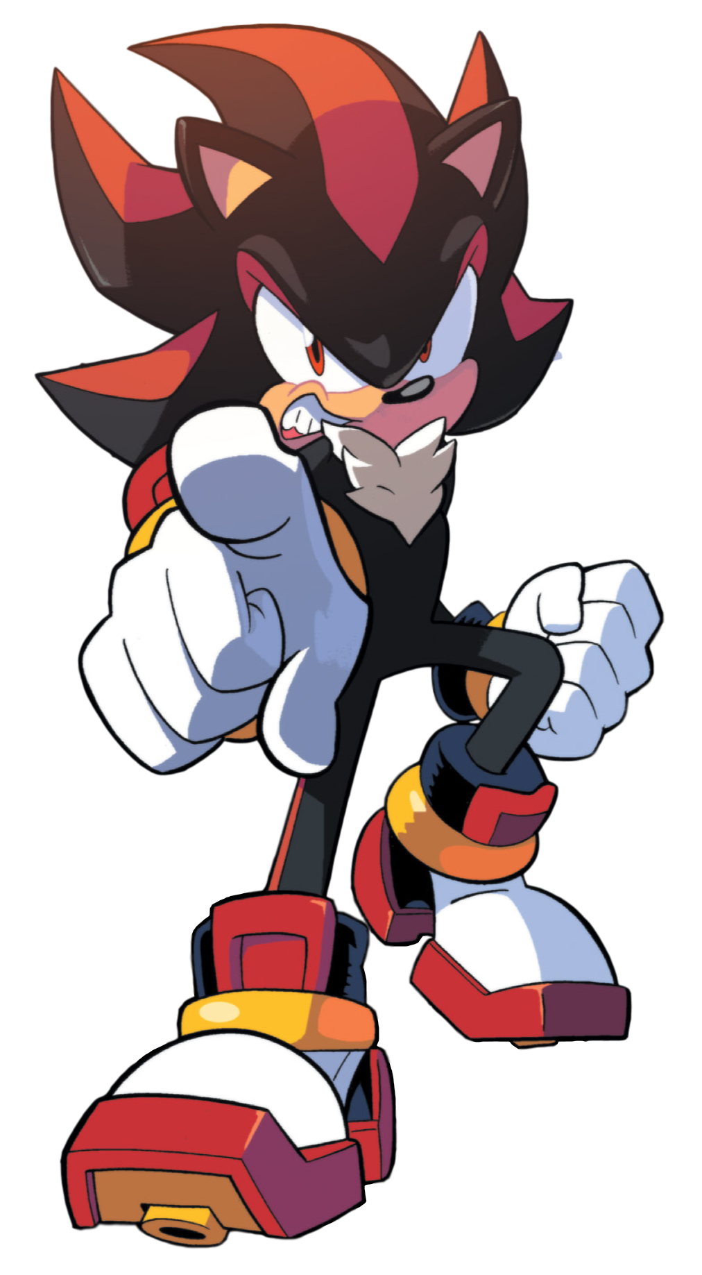 Shadow the hedgehog idw publishing wiki sonic the - Jeux de sonic vs shadow ...