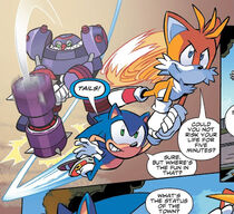 IDW Sonic 1 - Tails