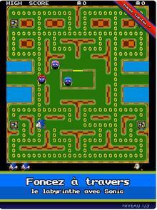 Sonic sur pac-man
