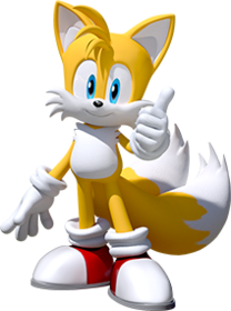 Team-Sonic-Racing Tails-portrait