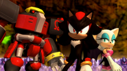 Omega - Shadow - Rouge