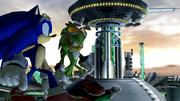 Sonic-jet-tour