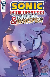 IDW Tangle-Whisper 2 - Couverture B